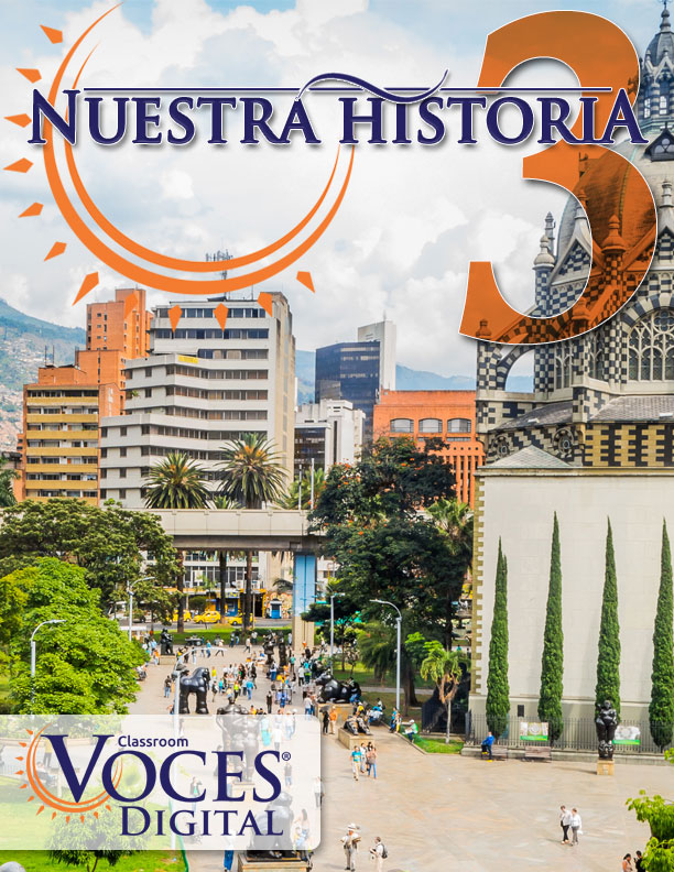 Voces Digital - Digital Curriculum Resources for Spanish, French